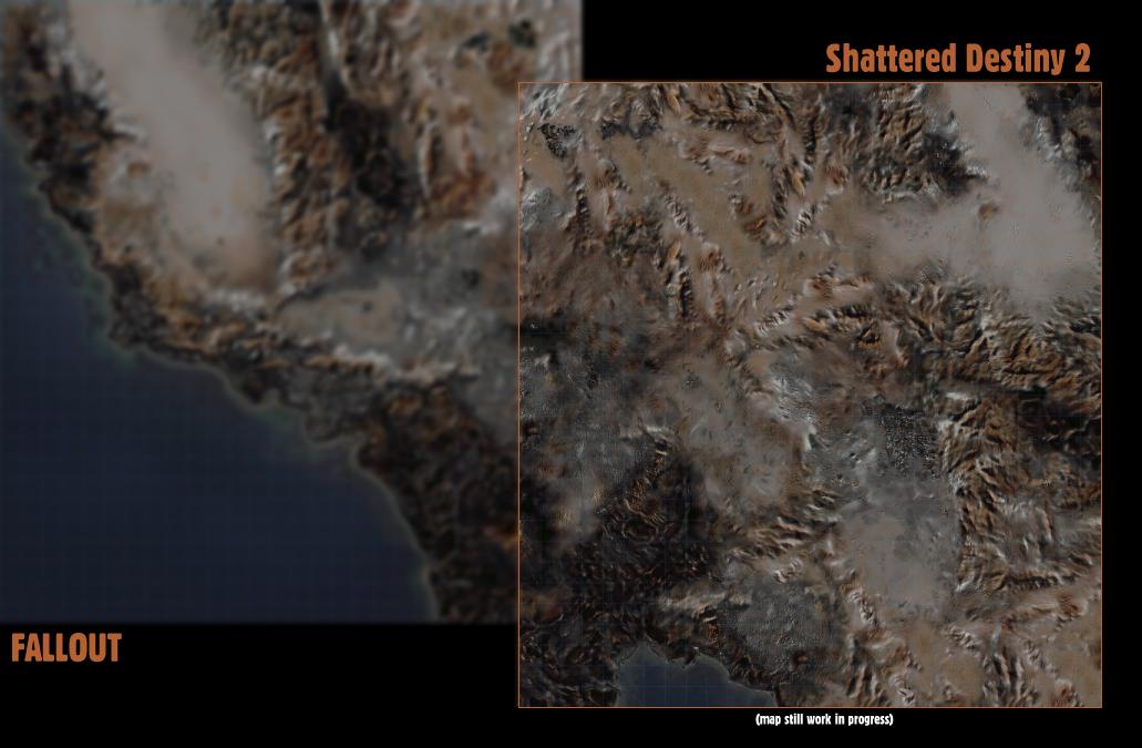 Falloutnow! - Shattered Destiny 2 Worldmap